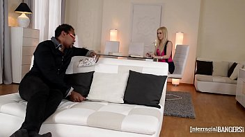 Interracial bangers get to see Nesty candelling & indulging in 69 action