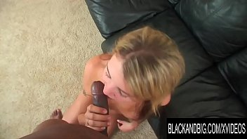Black and Big - Young Blonde Kaycee Dean Gets Creampied by BBC in POV