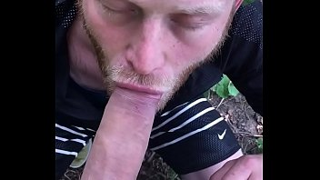 Blowjob in nature
