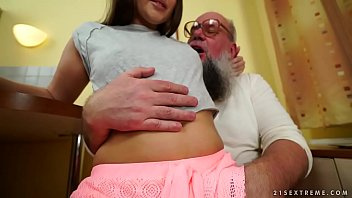 Albert posis naked Nasty grandpa fucks liza shay