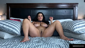 Sexy Huge Titty BBW In Lingerie Angelina Castro Fucks Her Moist Pussy!