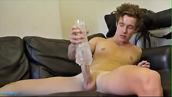 hot new boy fucking the toy until he comes
