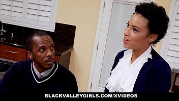 BlackValleyGirls - Ebony Queen (Amethyst Banks) Eats Driving Instructors Dick