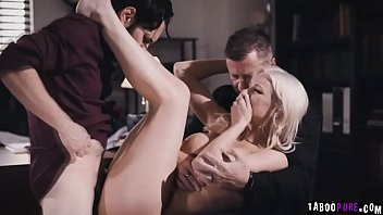 Desperate wife Kenzie Taylor banged in front of  her husband