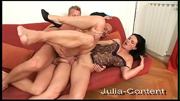 Gay woman fucking Gay men do threesome with a woman