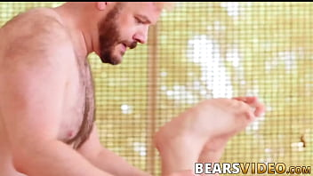 Bear gay love - Hairy butt buddies waste no time barebacking hard and fast