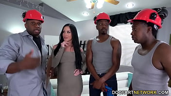 Pipe Cleaners Gangbang BBC Slut Jennifer White