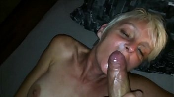 MILF Blondie Wants to Eat His Load