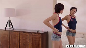 VIXEN Bad Girl Gets Punished By Best Friends Brother