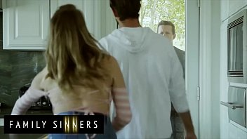 Naughty Chick (Cadence Lux) Plowed Hard By Her Hot Stepbrother (Lucas Frost) - Familysinners