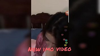 asian girl clevage captured in video chat