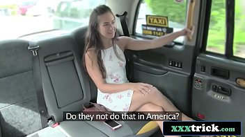 Pretty American Tourist Fucking London Cab Driver - Cassidy Klein