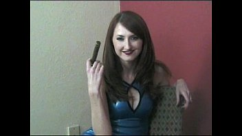 Nude girl smoking cigar Kendra james 1, cigar vixens, full video