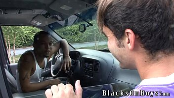 Devin Chase Works Out By Taking A Black Cock