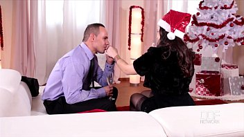 Jingle Balls-All She Wants For Christmas Is A Cock In Her Tw