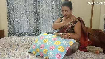 Desi Indian Mom with her sons friend 14 min