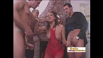 Facial paralysis english bulldogs Gorgeous brunette gets fucked by three cocks at the same time