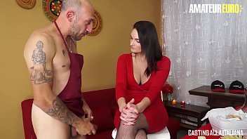 AMATEUR EURO - Brunette Babe Marie Clarence Takes Her Ass Deep Pounded In Auditions