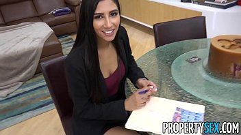 PropertySex - Hot real estate agent cheats on boyfriend to land real estate deal