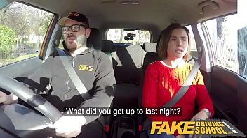 Fake Driving School Jealous learner with great tits wants hard fucking [페이크 택시 fake taxi fake driving]