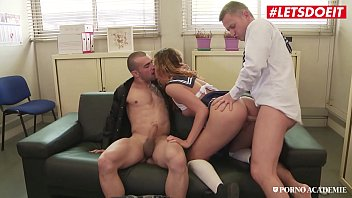 LETSDOEIT - #Shona River - Hungarian College Girl Hot Sex With Boyfriend And School Principal
