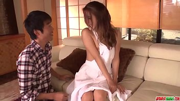 Nana Ninomiya leaves man to fuck her pussy hard - More at Japanesemamas com