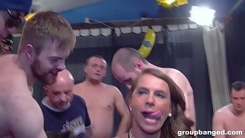 Sex video at the party Boys fire loads of cum in two holes