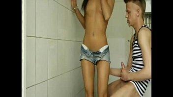 2017 - delicious sex in the bathroom with my boyfriend cum filling my face #1
