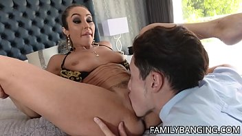Big Tits Milf Christina Cinn Gets Fucked By Her Stepson's Big Cock While Hubby Takes A Nap