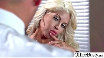 Realy big tits Big round tits girl bridgette b realy like to bang in office movie-10