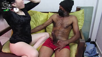 Puzzle expects his wife to go out and get a new stepdaughter on the couch. (Complete on Xvideos Red)