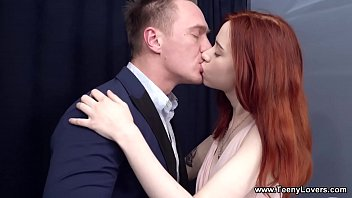 Teeny Lovers - Teen redhead Lagoon Blaze hot slurping fuck