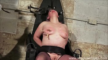 Slave Bunnys birthday breast whipping and celebratory tit torture