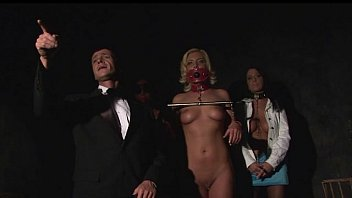 Slave auction.