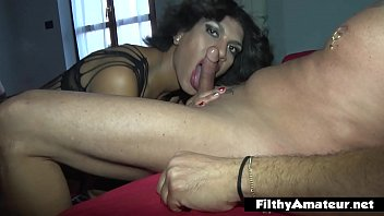 I butt-fuck the milf and butt-fuck her brother tranny