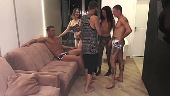 Part 1: Instead of a photo shoot, they had a hot orgy.... Katty West and Oliver Strelly 12 min
