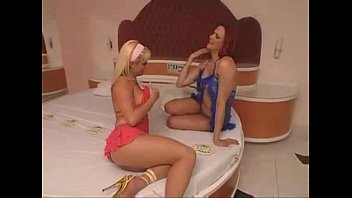 Shemale red Red haired tranny fucks nice blonde - ashemaletube.com