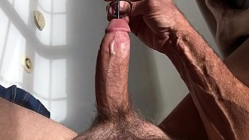 Cock sounding pics - Masterbation urethral sounding