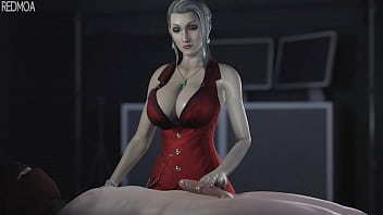 Bound handjob clips Ffvii scarlet cock teasetorture guy whimpers in defeat.