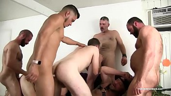 Fat gay fuck orgies Bareback fucking rough trade sex orgy