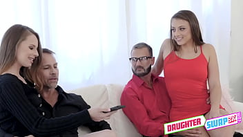 Gia and Jillian will get the full butt plug experience thanks to each other's dads!