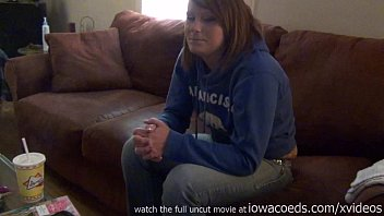 first time casting couch red head ginger college girl