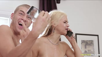 Having sex during a phone call is sexy - Sarah Vandella