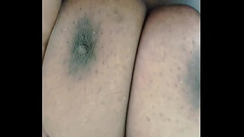 fucking my ebony queen and my dick plays at her pussy
