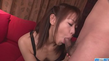 A hot asian girl gives blow job before Maika gets a facial - More at javhd.net