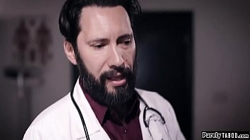 Doctor offers to impregnate busty client