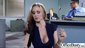 Sex Tape With Hot Busty Slut Office Girl (julia ann) movie-19