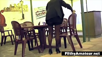 I ass-fuck the waitress after the job is done