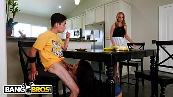 Step mom shows me her tits Bangbros - step sister maya bijou and step brother juan el caballo loco hook up
