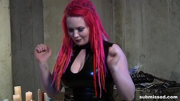 Mistress Irony Submissing And Hurting Cheri Rose Really Bad